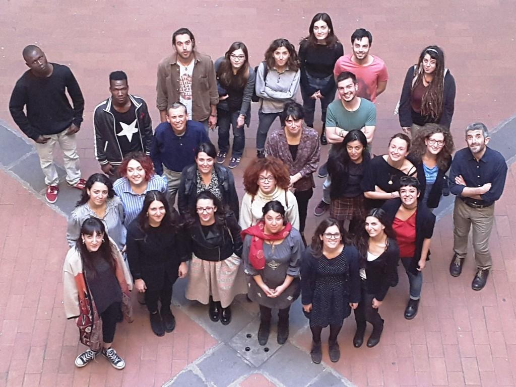 Partecipanti all'edizione 2017 del Laboratorio di scrittura interculturale